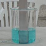 Reacción REDOX Sulfato de Cobre y Hierro