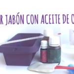Hacer jabón con sosa cáustica y aceite